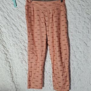Free people cropped pants size large.